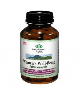 Vrouwen Welzijn (90 Veggie Caps) - Organic India