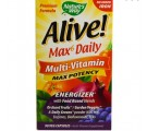 Alive! Whole Food Energizer Multivitamine Zonder Toegevoegd IJzer - Nature's Way (90 Vcaps)