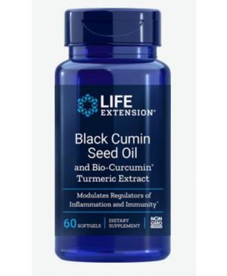 BLACK CUMIN SEED OIL WITH BIO-CURCUMIN (60 SOFTGELS) - LIFE EXTENSION