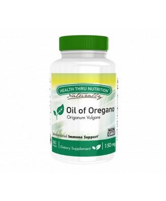Oil of Oregano (Wild) 150 mg (non-GMO) (360 Softgels) - Health Thru Nutrition
