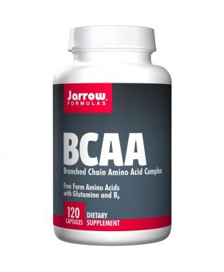 BCAA, Branched Chain Amino Acid Complex (120 Capsules) - Jarrow Formulas