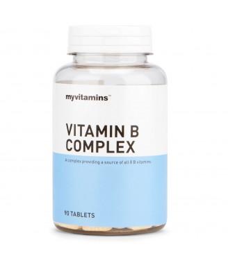 Myvitamins Super Vitamin B Complex, 90 Tablets (90 Tablets) - Myvitamins
