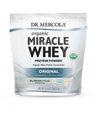 Organic Miracle Whey, Protein Powder, Original 382g - Dr Mercola