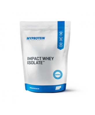 Impact Whey Isolate, Natural Strawberry, 5kg - MyProtein