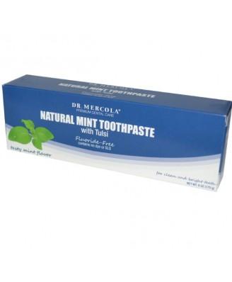 Fluoride-vrije Minttandpasta met Tulsi (170 gram)  - Dr. Mercola
