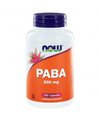 PABA 500 mg (100 caps) - NOW Foods