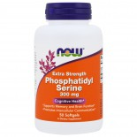 Extra Strength Phosphatidyl Serine- 300 mg (50 softgels) - Now Foods