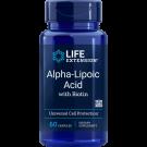 Super Alpha-Lipoic Acid met biotine 250 Mg - 60 Capsules - Life Extension