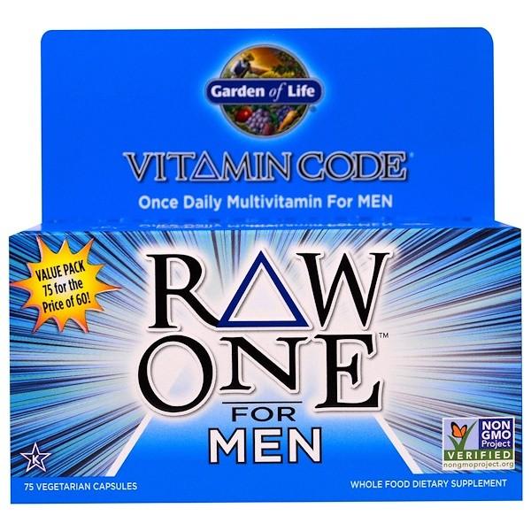 Koop vitamin code raw one once daily raw multi vitamin - Garden of life multivitamin for men ...