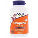 Ubiquinol 100 mg (120 softgels) - Now Foods