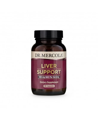 Liver Support (60 Capsules) - Dr. Mercola