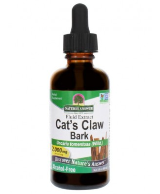 Cat's Claw Inner Bark, Alcohol-Free, 2000 mg (60 ml) – Nature's Answer