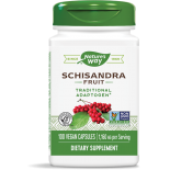 Schizandra Fruit 580 mg (100 Capsules) - Nature's Way