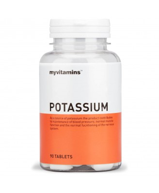 Myvitamins Potassium, 90 Tablets (90 Tablets) - Myvitamins