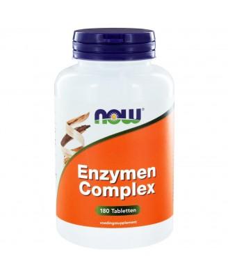 Enzymen Complex (180 tabletten) - Now Foods