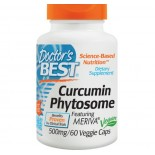 Doctor's Best, Curcumins Phytosome, Featuring Meriva, 500 mg, 60 Veggie Caps