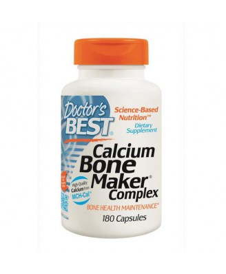 Calcium Bone Maker Complex (180 Capsules) - Doctor's Best