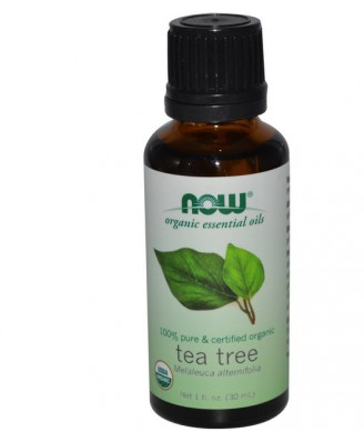 Now Foods, Organic Essential Oils, Tea Tree, 1 fl oz (30 ml)