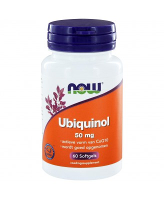 Ubiquinol 50 mg (60 softgels) - NOW Foods
