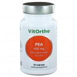 PEA 400 mg palmitoylethanolamide (Pure PEA) (30 vegicaps) - VitOrtho