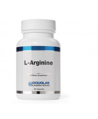 L-Arginine 500 mg  - (60 capsules) - Douglas Laboratories