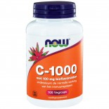C-1000 Caps met 100 mg Bioflavonoïden (100 vegicaps) - NOW Foods