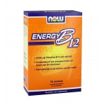 Energy B-12 2000 ?g (75 sachets) - Now Foods