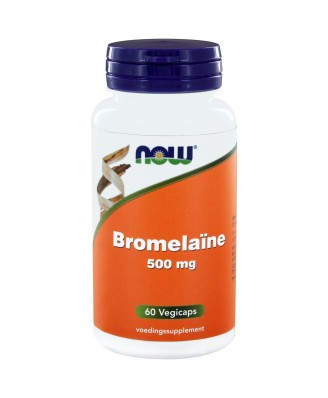 Bromelaïne 500 mg (60 vegicaps) - NOW Foods