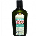 Avalon Organics, Shampoo, Scalp Treatment Tea Tree, 11 fl oz (325 ml)
