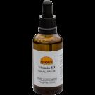 Vitamin D3 liquid, 1000 IE (50 ml, ca. 1.350 drops) - Vitaplex