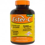 Ester-C- 500 mg with Citrus Bioflavonoids (240 Capsules) - American Health