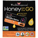 Wedderspoon Organic, Inc., Honey On The Go, KFactor 16, 24 Packs, 5 g Each