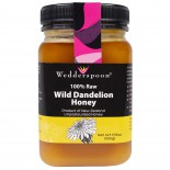100% Raw Wild Dandelion Honey (500 gram) - Wedderspoon Organic