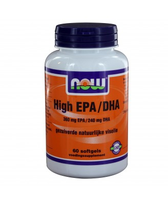 Omega-3 Plus 360 mg EPA 240 mg DHA (60 softgels) - NOW Foods