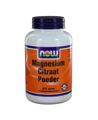 Magnesium Citraat Poeder (227 gram) - NOW Foods
