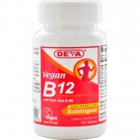 Vegan B12 Sublingual (90 Tablets) - Deva