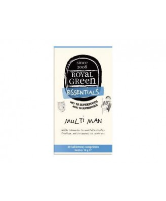 Multi Man – 120 Tabs – Royal Green