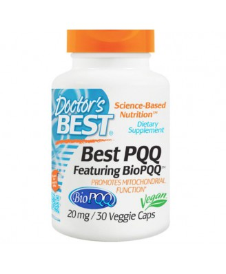 Best PQQ, 20 mg (30 Veggie Caps) - Doctor's Best