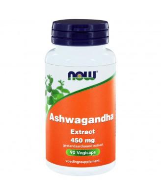 Ashwagandha Extract 450 mg (90 vegicaps) - NOW Foods