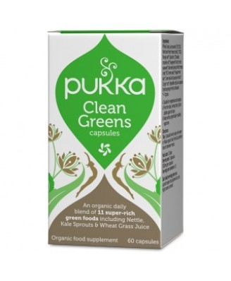Clean Greens BIO – 60 caps – Pukka