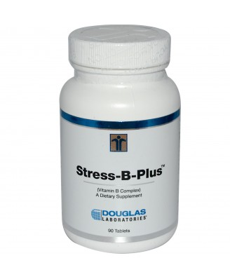 Douglas Laboratories, Stress-B-Plus, Vitamin B Complex, 90 Tablets