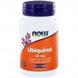 Now Foods, Ubiquinol CoQH-CF, 60 gelcapsules