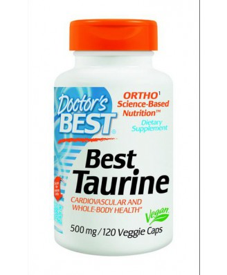 Best Taurine (120 vegetarian caps) - Doctor's Best
