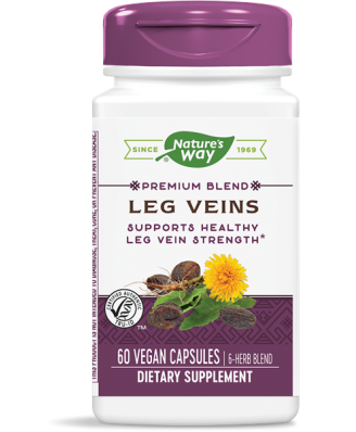Leg veins met Tru-OPCs 435 mg (60 Capsules) - Nature's Way