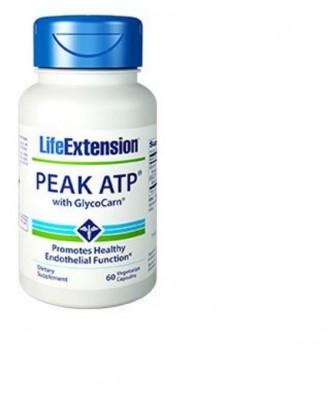 Peak ATP  met Glycocarn, 60 plantaardige capsules - Life Extension