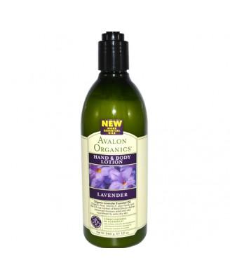 Hand- & Lichaamscreme, Lavendel (340 g) - Avalon Organics