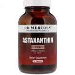 Dr. Mercola, Premium Supplements, Astaxanthine, 90 Licaps Capsules