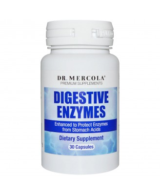 Digestive Enzymes (30 Capsules) - Dr. Mercola