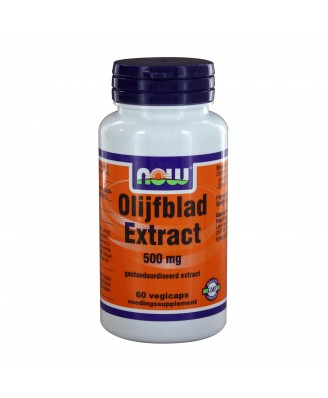 Olijfblad Extract 500 mg (60 vegicaps) - NOW Foods