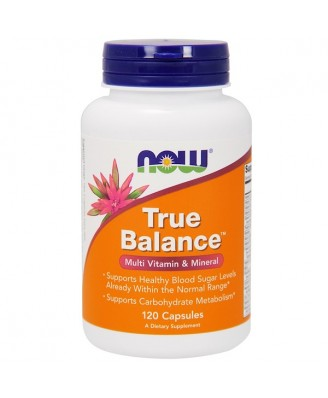 True Balance - Multi Vitamin & Mineral (120 capsules) - Now Foods